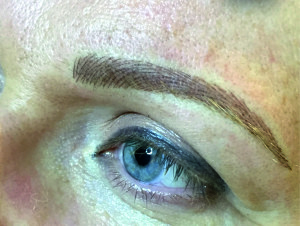 Augenbrauen, feinste Häarchenzeichnung, Permanent Make-up Deggendorf, Timeless Nails & Lashes,